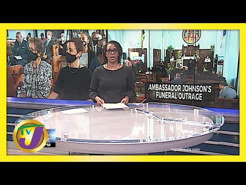 Ambassador Johnson's Funeral Outrage in Jamaica   TVJ News