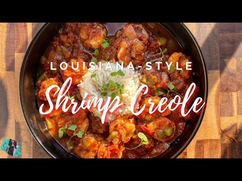 THE ABSOLUTE BEST SHRIMP CREOLE RECIPE | QUICK & EASY COOKING TUTORIAL | LOUISIANA STYLE