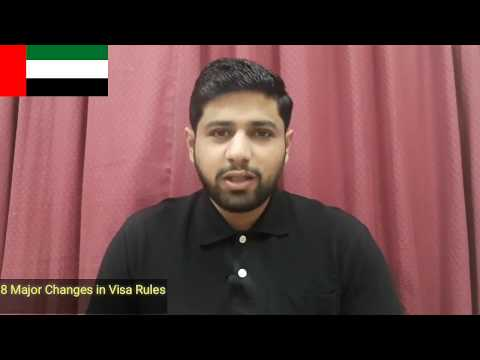 8 Big Changes in Visa rules UAE - You Need To Know || Complete Video