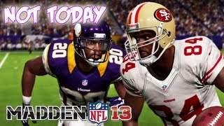 Madden 13 - Christian Ponder Ballin Catch This Fade! Madden - Online Ranked Match - VIKINGS