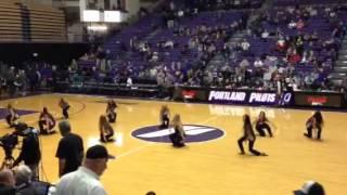 Pilots Dance Team Halftime vs San Diego - 1/25/14