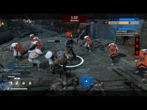 For Honor Berserker Master Reaction God