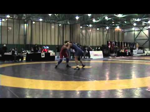 2009 Senior National Championships: 59 kg Jasmine Pelham vs. Liz Sera