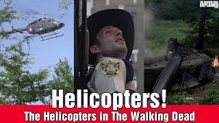 The Walking Dead Helicopters Explained
