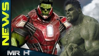 Avengers 4 Footage Hulk Will Have New Armour