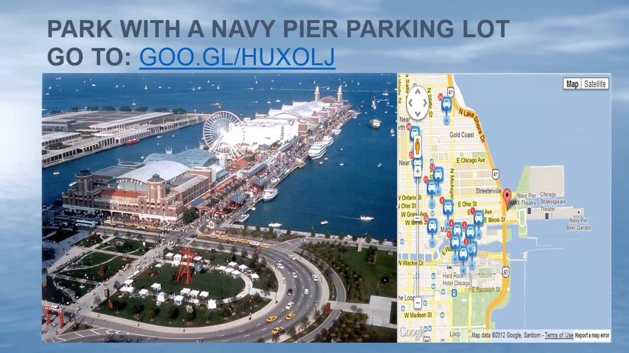 Navy Pier Parking Discount YouTube - Chicago map navy pier