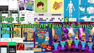 Top 10 Best Free Android Trivia Quiz Games