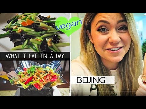 What I Eat In A Day (vegan) | BEIJING, CHINA