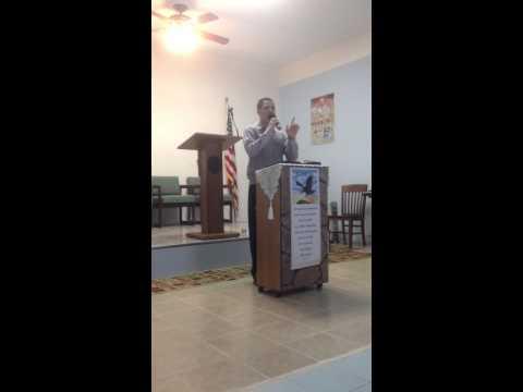 Predica Del Hermano Jeffrey Morales.