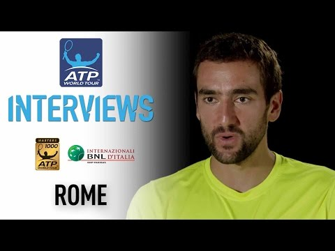 Interview: Cilic Reflects On Good Form Going Into QF At Rome 2017