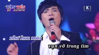 Deng karaoke -Màu Hoa Tan Vỡ Đào Phi Dươn