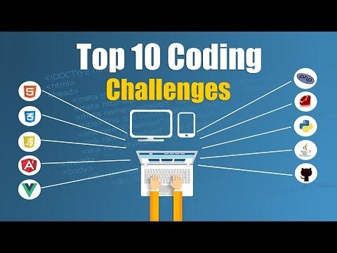 Top 10 Coding Challenges To Help Test Your Brain | Topcoder | Hacker Rank | Eduonix