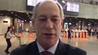 Ciro Gomes diz que Tasso tem sido boicotado pelo lado bandido do PSDB