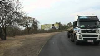 Driving to Zambia border, Victoria Falls, Zimbabwe, 2015-10-04