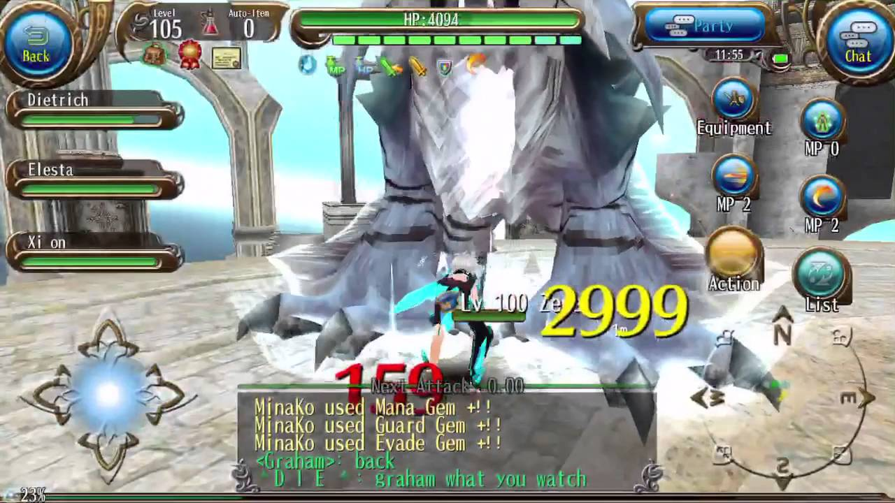 Toram Online Lv 100 Arena (normal) IS ZEGA A NEW TYPE OF