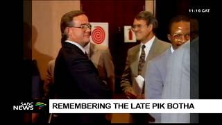 Tributes pour in for Roelof Pik Botha