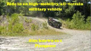 ALL-TERRAIN PINZGAUER TOURS NORMAL