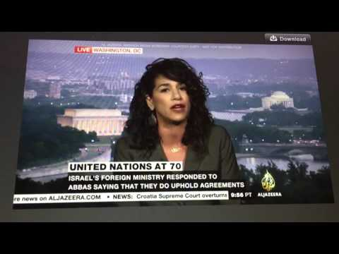 Palestine at the UN: Jadaliyya Co-Editor Noura Erakat Interviewed by Al-Jazeera America