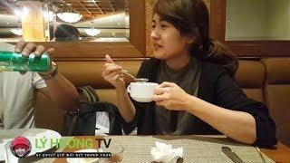 Việt kiều thương Lý Hương và Sài Gòn Ngày Nay ủng hộ âm thầm ăn buffet tôm hùm