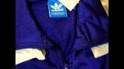 Adidas Originals Firebird Track Top Purple and White