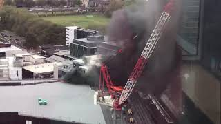 Major fire in central Auckland