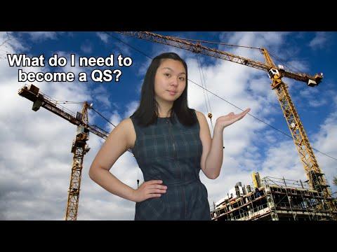 What do I need to become a quantity surveyor?