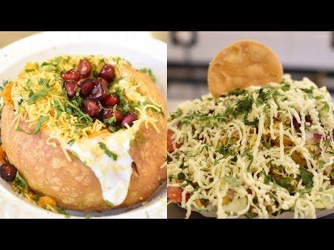 KING Of CHAAT | BIG Dahi Kachori | Samosa Cheese Bhel | Indian Street Food
