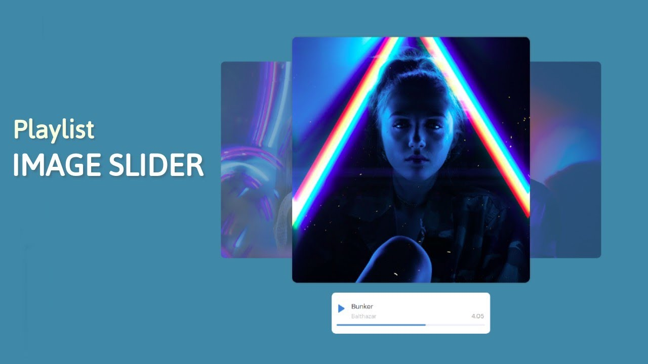 How to Create Image Slider in HTML and CSS   Pure CSS Responsive Image Slider   Source Code