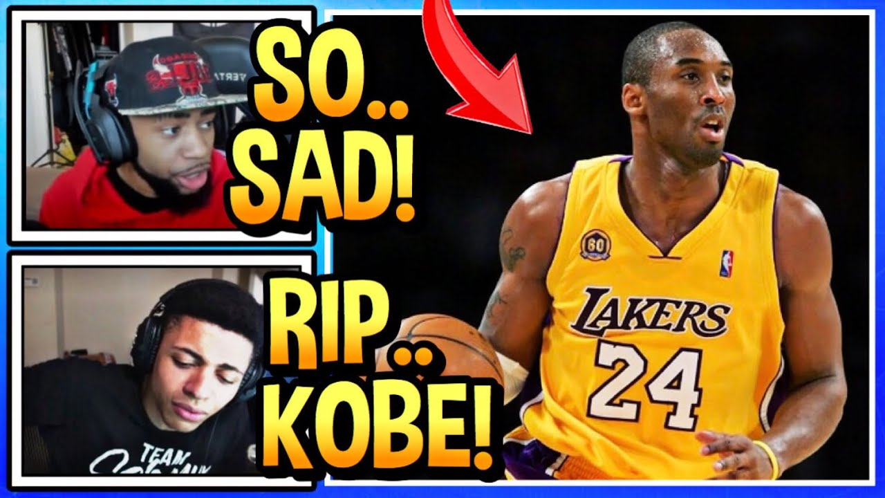Download Streamers React To Kobe Bryant's Death! (SO SAD)