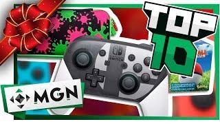 10 Mejores Regalos Para un Jugador de Switch en Navidad | MGN