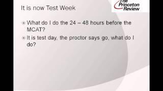 Podcast - MCAT Test Taking Strategies