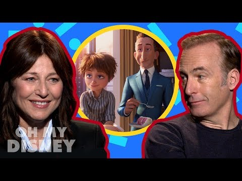 Bob Odenkirk and Catherine Keener on Playing Siblings in Incredibles 2  Oh My Disney