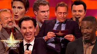 Celebrities Impersonating Other Celebrities - The Graham Norton Show thumbnail