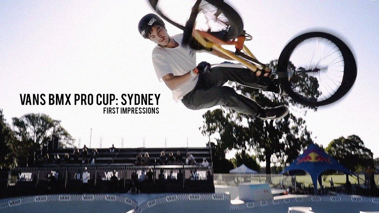 1ff0ae1f0e 2019 Vans BMX Pro Cup  Sydney - First Impressions - YouTube