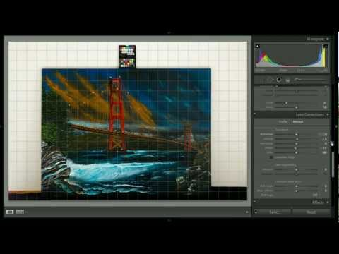 Photographing artwork with a ColorChecker Passport