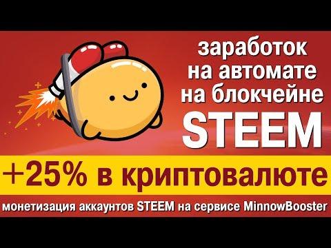 +25% годовых в криптовалюте STEEM