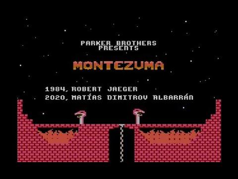 Montezuma 2020 for Atari 8-bit computers