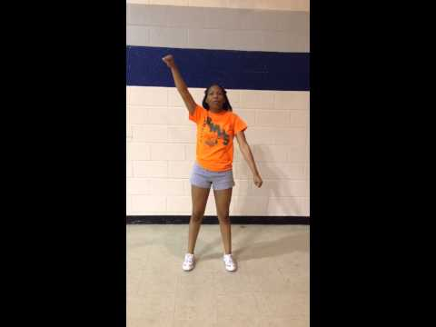 Rocky Mount Middle School Cheer Tryouts 2014-2015