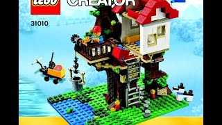 Lego Club Build Instructions For Treehouse Set #31010 (1 Of 3)