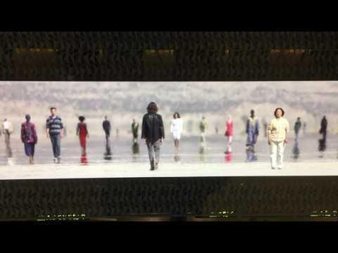 Video Wall Art at Hamad International Airport, Doha