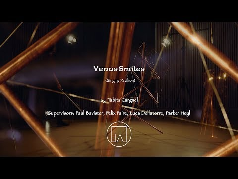 Performance of Venus Smiles | Sound Sculpture [Video for Ars Electronica 2019]