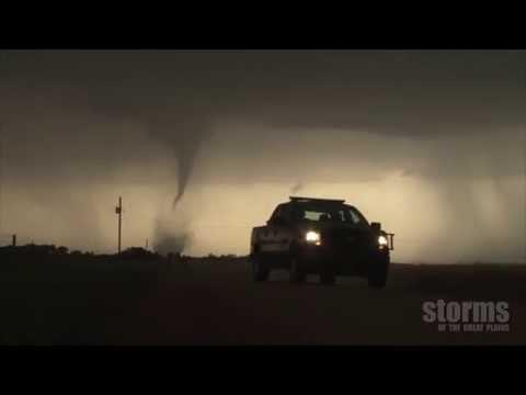 Tornado vs Wind Farm
