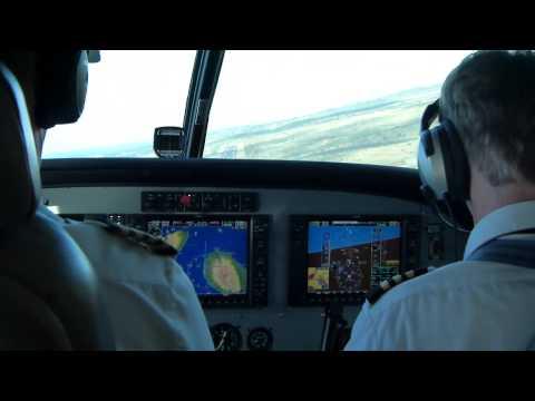 Mokulele Airlines Landing in Kapalua, Maui