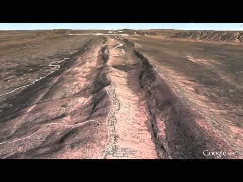 Google Earth Tour: Larapinta Trail, West MacDonnell Ranges