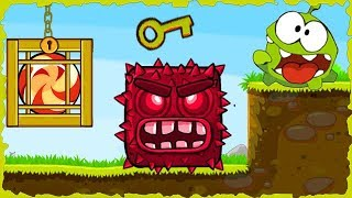 Om Nom In Red Ball 4 Deep Forest Mobile Game Walkthrough