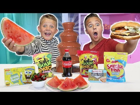 Real Food VS Candy Challenge!