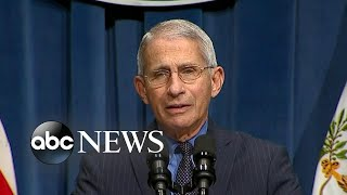 Fauci says that states doing well with COVID-19 spread could still be vulnerable