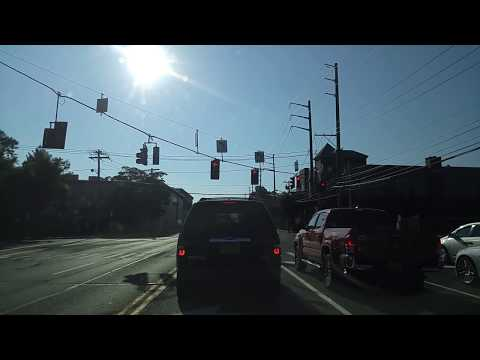 Driving from Manhasset in Nassau to Middle Village in Queens,New York