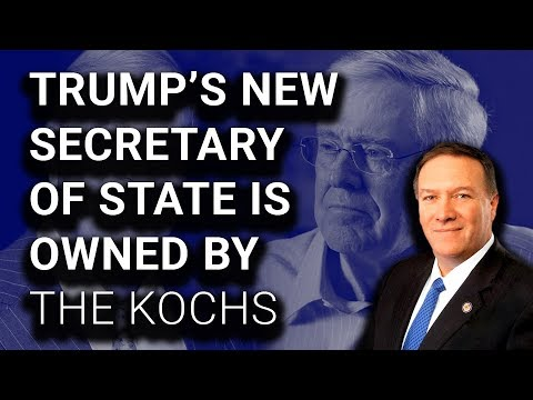 Trump's New Secy of State is Top ALL TIME Recipient of Koch Money