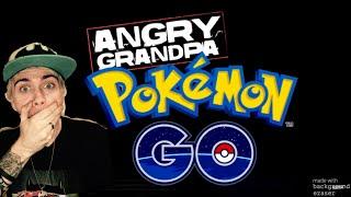 Angry Grandpa Plays Pokémon GO! (Destroys iPhone!) REACTION!